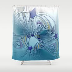 fractal design -120- Shower Curtain