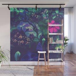 Gathering of Flowers - [Purple Version] Wall Mural