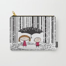 Raining numbers barcode Carry-All Pouch