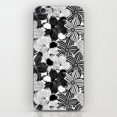 Flowers black & white serie 2 iPhone & iPod Skin