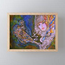 RAVENS #society6 #decor #buyart Framed Mini Art Print