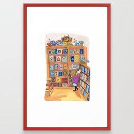 Book of Wonder Framed Art Print