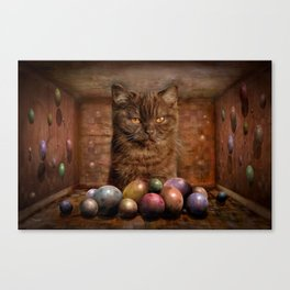 The Boss of the Balls Canvas Print