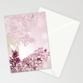 Lilic floral Stationery Cards