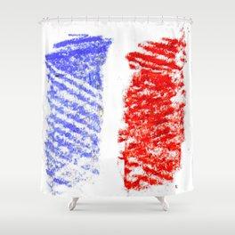 Flag of France 13- France, Français,française, French,romantic,love,gastronomy Shower Curtain