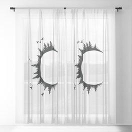 Wild Child C Sheer Curtain