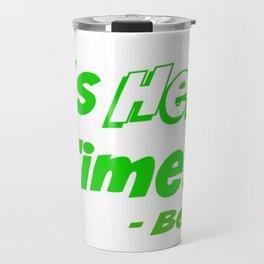 It's Hero Time! Travel Mug