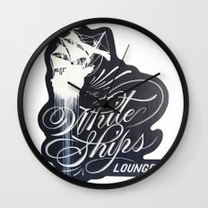 The White Ships Lounge Wall Clock