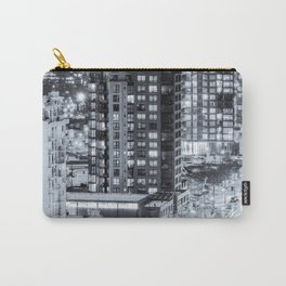 Nighttime Urban Sprawl Vancouver Carry-All Pouch