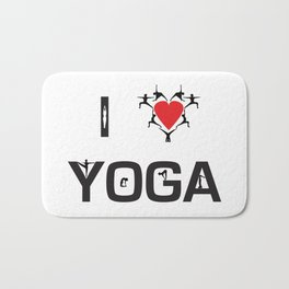 I heart Yoga Bath Mat