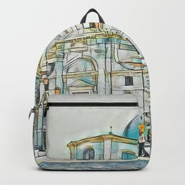 Textured Venice Backpack