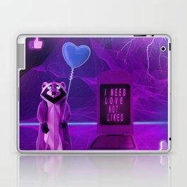 I need Love not Likes Laptop & iPad Skin
