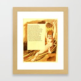 "From ""Night-Thoughts"" Framed Art Print"