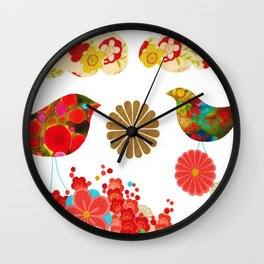 We Create Our Own World Wall Clock