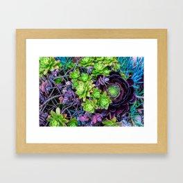 Green Fantasy by Lika Ramati Framed Art Print