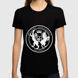 MI6 Logo (Millitary Intelligence Section 6) T-shirt