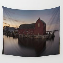 Motif #1 after sunset Wall Tapestry