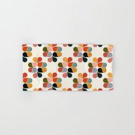 Retro geometry pattern Hand & Bath Towel