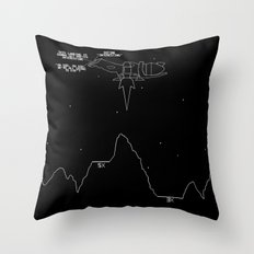 Serenity Lander Throw Pillow