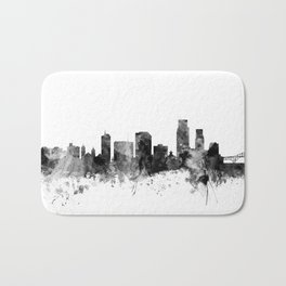 Corpus Christie Texas Skyline Bath Mat