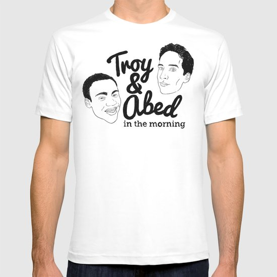 Troy & Abed In The Morning! - Community T-shirt
