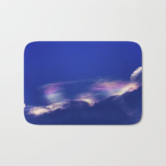 Fire Rainbow Bath Mat