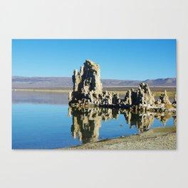 Tufa formations, Mono Lake, California Canvas Print