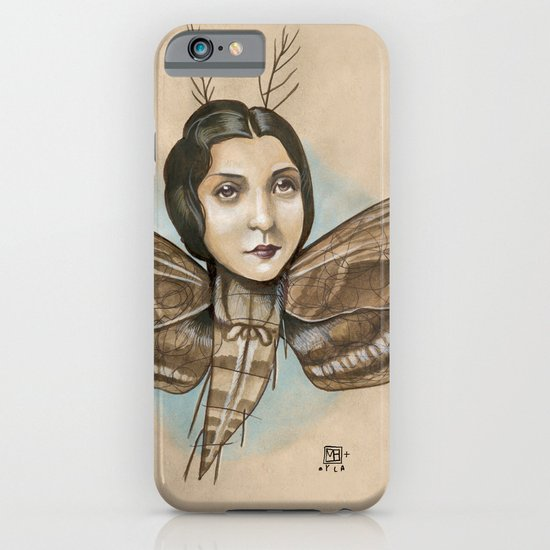 MOTH LADY iPhone & iPod Case