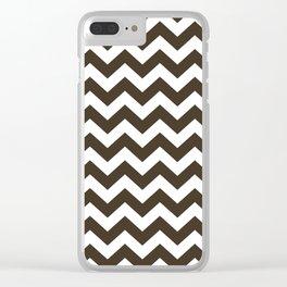 Cola Safari Chevron Clear iPhone Case