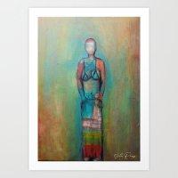 FIGURES XI Art Print