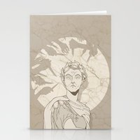 et Stationery Cards featuring Et tu, Brute? by hatrobot