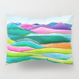 Pastel Hills Pillow Sham