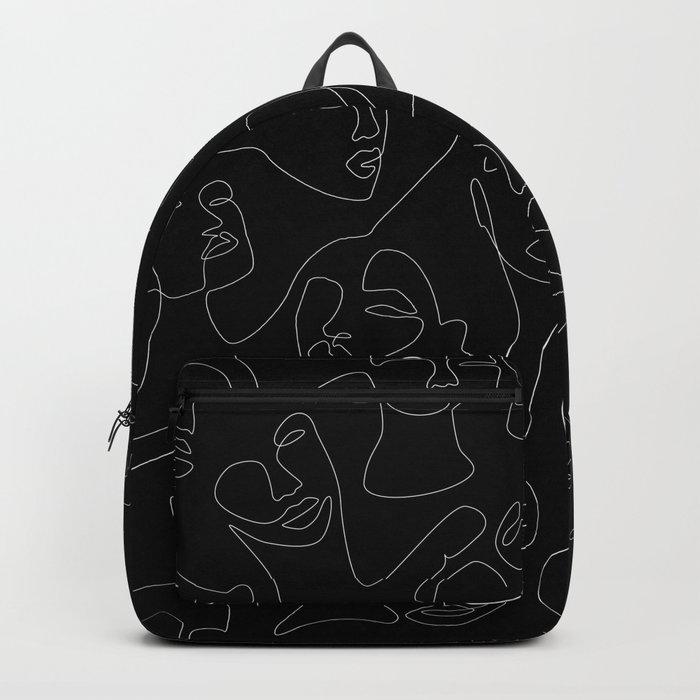 Face Lace Backpack