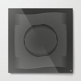 Lines/ Metal Print