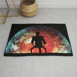Illusive man ( Mass Effect ) Rug