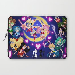 The Sailor Scouts Laptop Sleeve