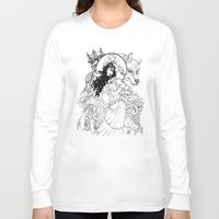 gypsy Long Sleeve T-shirts featuring Gypsy  by ericlvargas