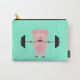Fitness Pig with Weights Bjzsl Carry-All Pouch