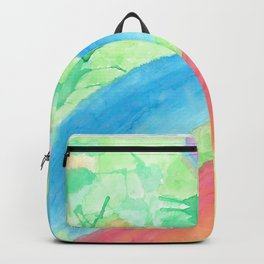 colors of the sea Backpack