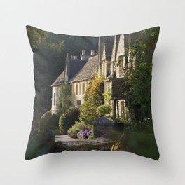 Not the manor Throw Pillow