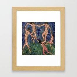 The Vegetarian Dance Fine Art Parody Framed Art Print