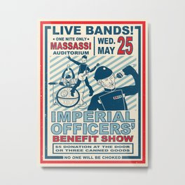 Imperial Officers' Benefit Show Metal Print