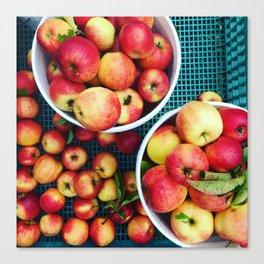 Pacific Northwest Apple Cart Canvas Print