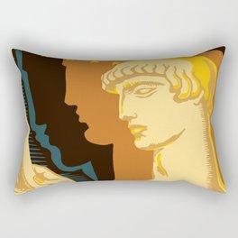 Federal Art Pennsylvania retro ad Rectangular Pillow