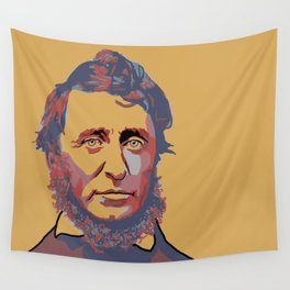 Henry David Thoreau Wall Tapestry
