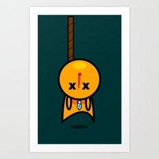 Hanged Art Print