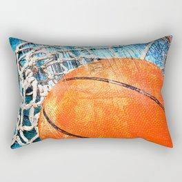 Basketball art variant 1 Rectangular Pillow