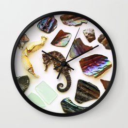 Curly Q Wall Clock