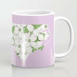 North Carolina in Flowers Coffee Mug