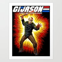 Art Print featuring G.I. Jason   by FrightRags